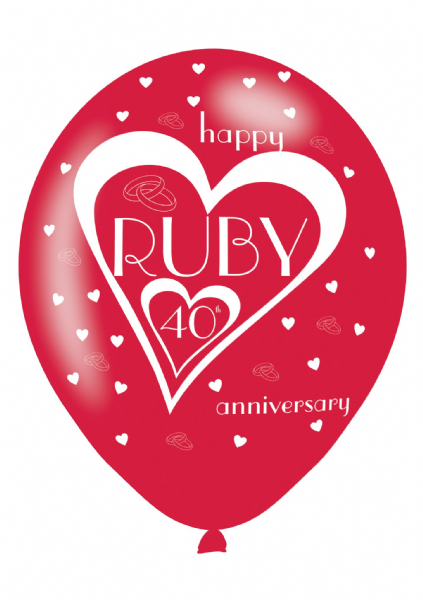 Ruby 40th Anniversary